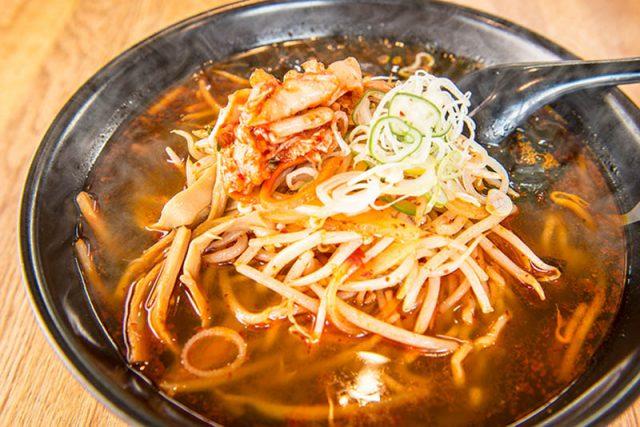 Miso Ramen( soy beans taste)<br />