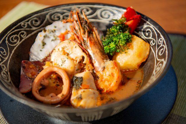 北の海鮮と野菜